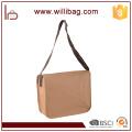 Factory Wholesale DIY Kraft Paper Durable Waterproof Messenger Bag