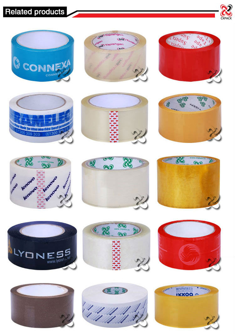 Self Adhesive Oem Printed Tape