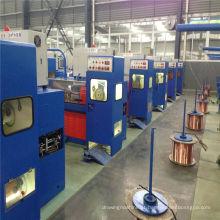 Equipamento de fabricação de cabos 14DT (0,25-0,6) Máquina de desenho de cabos finos de cobre com ennealing