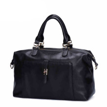 New Designed Factory OEM Lady PU Leather Tote Woman Fashion Handbag (ZX10140)