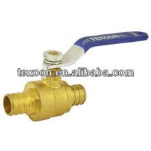 BRASS ball valve PEX Lead free CSA CUPC NSF61 AB1953
