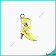 Yellow Lady Boot Small Size Charm (SPE)