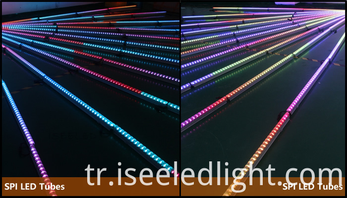 Media Facade LED Tube Lights