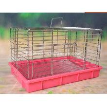 Galvanisieren Sie Edelstahl Kaninchen Käfig