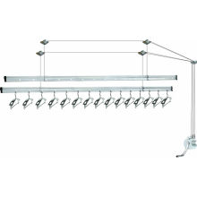 Apple sets hand-operated wall mounted clothes drying rack