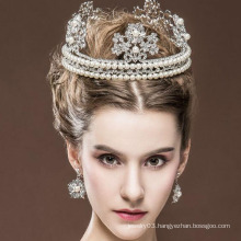 Beauty Queen Crown And Ring Tiaras Hot Sale Real Diamond Tiaras