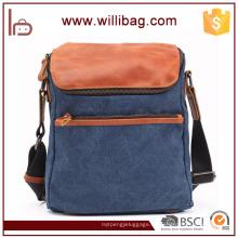 Heißer Verkauf Mode Retro Sling Bag für Männer Messenger Bag Canvas