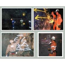 Pintura de marcação de minas / Marcador de minas subterrâneas / Pintura de marcas não inflamáveis para minas