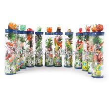 Китайский зодиак пластиковых игрушек морских животных животных игрушек