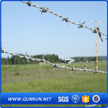 Galvanize barbed wire on sale