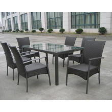 Salle à manger meubles pile chaise KD Table extérieure