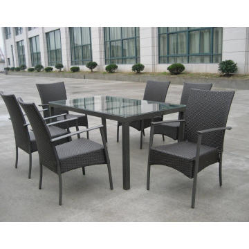 Outdoor Dining Möbel Stack Chair KD Tabelle