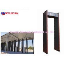 Super Scanner 2LED light Metal Detector Gate for Security c