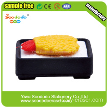 Imposta Fancy Food Eraser Cancelleria scuola