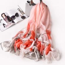 Cachecol de tecido de poliéster de qualidade Premium de alta qualidade macio para tocar lenço de viagem de impressão digital