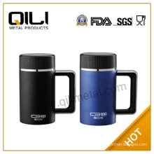 fashion stainless steel thermo mug with handle