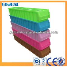 Poubelle polyvalente durable de stockage de pp