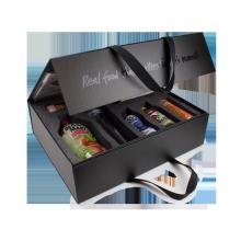 Elegant Wine Bottle Book Magnetic Box with EVA