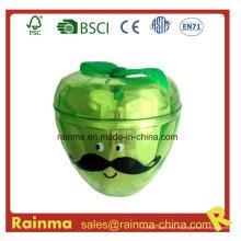 Afilador de plástico con forma de Apple