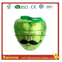 Plastikschleifer mit Apfelform