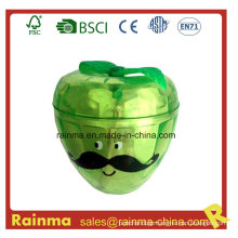 Plastic Sharpener with Apple Shape