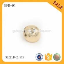 MFB91 Legierung kundengebundener Metallkuppelknopf für Jeans