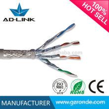 Cable de cable de par trenzado Cat7 de BC / CU / CCA / CCS / CCAM Cat7