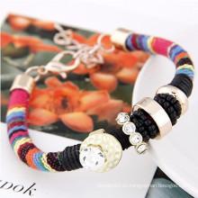 2015 productos exclusivos encanto rhinestone pulsera étnica joyas