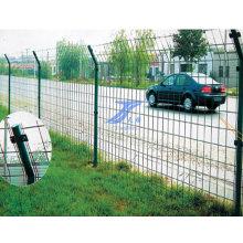 Double Border Wire Runde Post Fecne