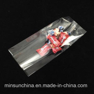 Embalaje de plástico de sellado lateral medio para el caramelo de pan