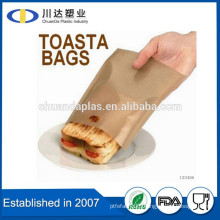 Custom size Pack Of 4 Reusable Toastie Toaster non stick easy to use Toasted Sandwich Bags                                                                         Quality Choice
