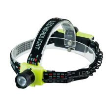 Poppas T40 Plastic 150lumens 3 Brightness Level Xre Q5 Telescopic Zoomable High Power LED Headlamp