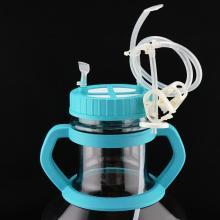 Matraz Erlenmeyer de alta eficiencia de 5 litros con tubo