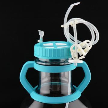5 Liter hocheffizienter Erlenmeyerkolben mit Tube