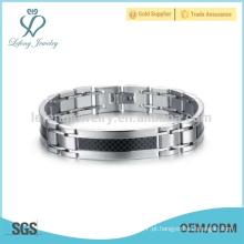 Mais recente pulseira conectada, pulseira de aço inoxidável stel, pulseira fina