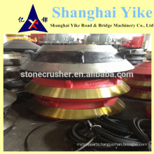 cone crusher wear parts sanbao, metsso,sand vik, smb,