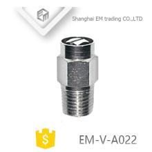 EM-V-A022 Manual latão niquelado radiador de ar válvula de ventilação de liberação