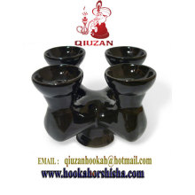 Four Head Ceramic Hookah Bowl/Shisha Bowl