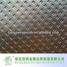 Cerca de metal perfurado de aço inoxidável