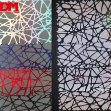 Mode benutzerdefinierte Muster Regenbogen Vogelnest reflektierenden Druck Marine Compound reflektierenden Stoff Kleidungsmaterial