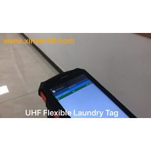 Etiqueta RFID UHF PPS para roupa lavável e reutilizável