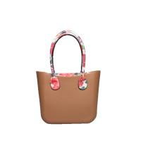 Damen mittelgroße stilvolle Shopper-Brauntaschen