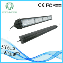 China Diseño industrial usado IP65 100W / 150W / 200W / 400W LED Linear Light