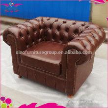 NOVO Conjunto de sofá de couro de baixo preço de fábrica de design