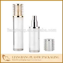 Acrylic airless bottle with screw