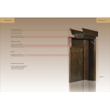Sample of Engineering Wooden Door (ED01-ED020)
