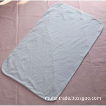 white knitting fabric pillow case