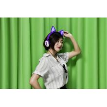 Fox Ears Einzigartiges LED-Licht Kids Headband Headphones