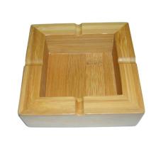 Hochwertiger spezieller Design-handgemachter rechteckiger hölzerner Aschenbecher