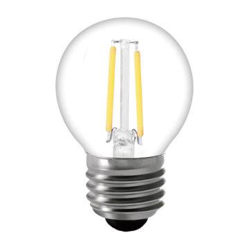 Bombilla de iluminación directa de la venta G45 LED de la fábrica con la aprobación del CE